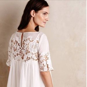 Anthropologie Holding Horses lace dress